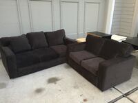 Grayish Brown couch set Irvine, 92604