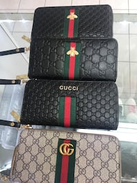 Black gucci leather wallet brand new ,$80 each Calgary, T2B 3G1