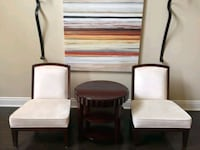 2 Off White Italian Chairs Family Room Markham, L3R 5M1