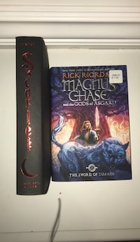 2 books, Magnus chase and scarlet  Vancouver, V5M 3T6