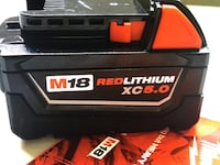 Milwaukee Battery : New 5.0 18M Batería Nueva 5.0 de 18 Voltios Los Angeles, 91324