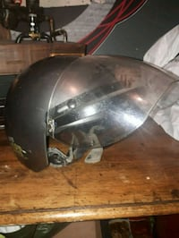 black and gray motorcycle helmet Montréal, H2K 2P8
