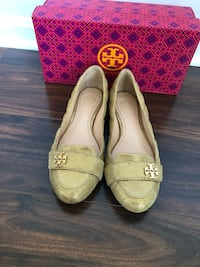 Pair of brown leather flats Purcellville, 20132