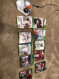 10 total Xbox one and Xbox 360 games