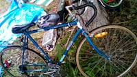 blue and black road bike Kelowna
