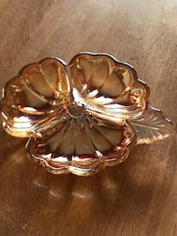 Vintage carnival glass orange bowl Edmonton, T6R 2R5