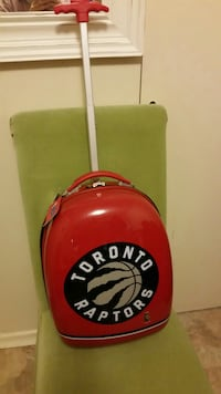 Brand new Toronto raptors  luggage  bag bought at toys r us