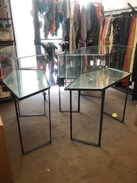 3 display cases Beverly Hills, 90210
