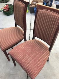 Two side chairs very good condition just needs cleaning Fresno, 93722
