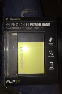 Goal zero flip 36 power bank for phone and tablet  Edmonton, T5B 2W6