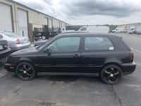 Volkswagen - Golf - 1997  project with parts Richmond, 23227