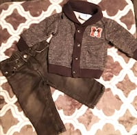 Mickey mouse cardigan sweater & pants  Downey, 90242
