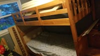 Wooden bunk bed  Raleigh, 27615