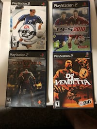 four assorted PS3 game cases Winnipeg, R2K 3B8