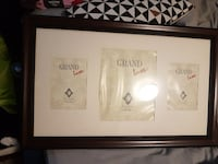 Grand Luxe poster with brown wooden frame Toronto, M1G 2C1