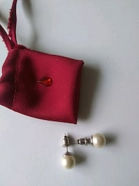 925 silver pearl earrings Whitchurch-Stouffville, L4A 0J5