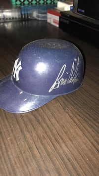 Brain Cashman signed mini helmet Englewood, 07631