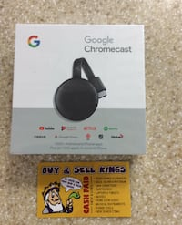 NEW GOOGLE CHROMECAST 3RD GEN