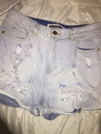 women's blue denim shorts Ottawa, K1T 4G7