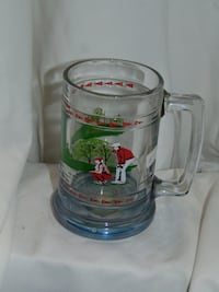 Golfer' s stein from the Princess house collection Edmonton
