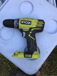 yellow and black Ryobi cordless hand drill Bowie, 20721