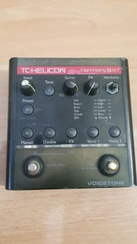 TCHELICON Voicetone Digital Vocal Prosesörü Esenler Mahallesi, 17000