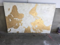World Map Canvas (X-Large)