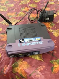 gray and black Linksys router Las Vegas, 89113