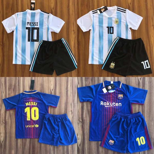 check out 0187c c4622 Messi Argentina jersey Barcelona Uniform