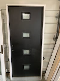 """36""""x80"""" contemporary front door. Right hand. Brand new. Clifton, 20124"""