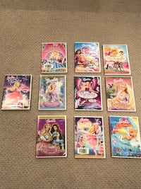 Disney Princess DVD's