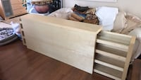 IKEA headboard with roll out shelves Orlando, 32818