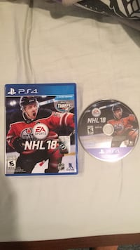 NHL 18 PS4 Kitchener, N2P 1T2