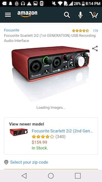 red and black car amplifier screenshot Alexandria, 22312