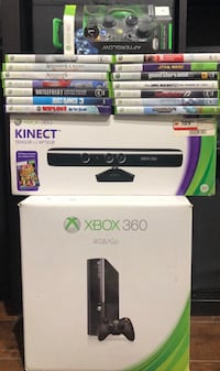 Xbox 360 W/Kinect and 14 Games (hot) Toronto, M2N 7M2