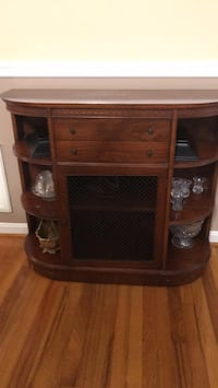 brown wooden cabinet with drawer Rome, 30165