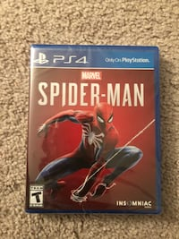Brand new in plastic ps4 Spider-Man  Alexandria, 22303