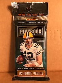 Unopened football card. Multiple packs available .