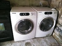 White front load washer and gas dryer Baltimore