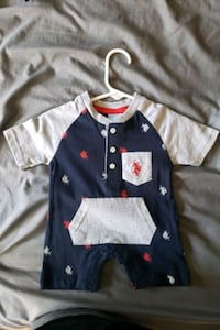 U.S Polo baby romper 3/6 months Frederick