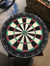 Dartboard right out of box!  Mississauga, L5B 2M9