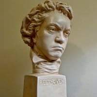My Ceramic Bust of Beethoven Bethesda, MD, USA