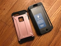 iPhone 7 + case and arm band slip on Monticello, 12701