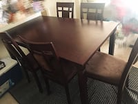 Dining table set 埃德蒙顿