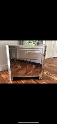 Z Gallerie - Simplicity Mirrored Side Chest - Two of them! Boca Raton, 33428