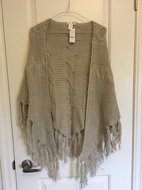 women's gray cardigan Georgina, L4P 0E9