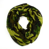Camouflage Infinity Scarf LAUREL