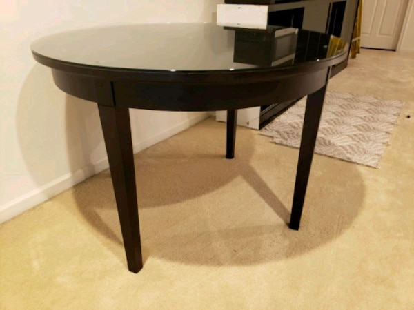 Round dinning table $70 OBO each