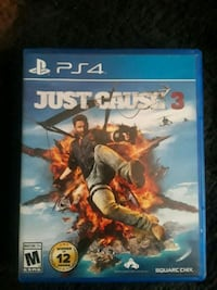 Sony PS4 Just Cause 3 game  Odessa, 79762