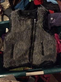 black and gray fur vest Maryville, 37801